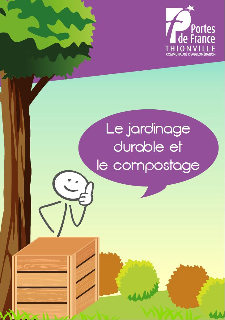 Couverture du guide du jardinage durable et du compostage