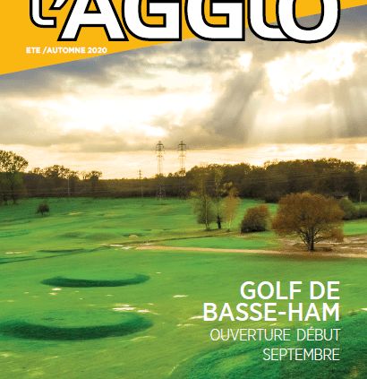 couverture du 44e journal de l'agglo - portes de france thionville