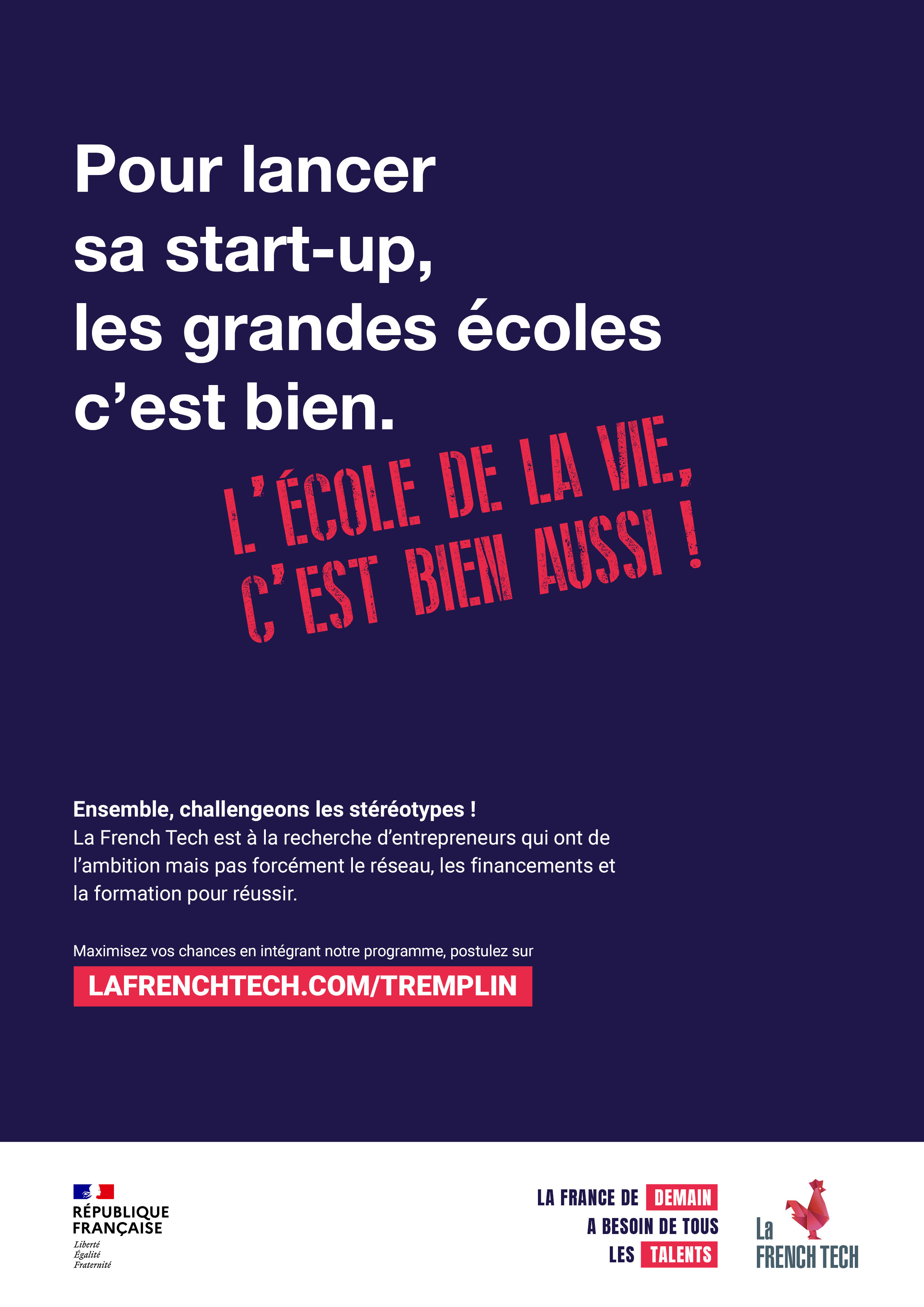 Affiche French Tech Phase incubation